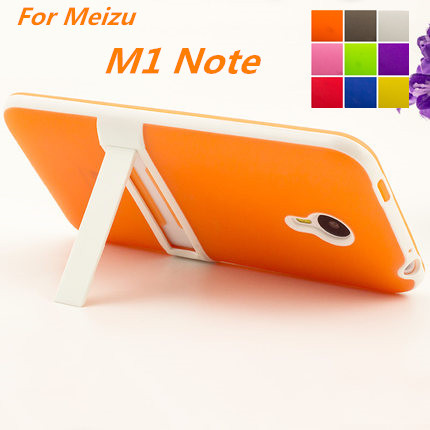 Ultra-thin PC Frame TPU Soft Cover Silicon Case For Meizu M1 Note Matte Feel Phone Cases For Meizu M1 Note