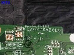 KEFU  zdjęcie  DA0R76MB6D0 REV : D / DA0R76MB6D1 laptop płyta główna do HP Pavilion 15-E 17-E  procesor A4 (kwalifikowany ok)
