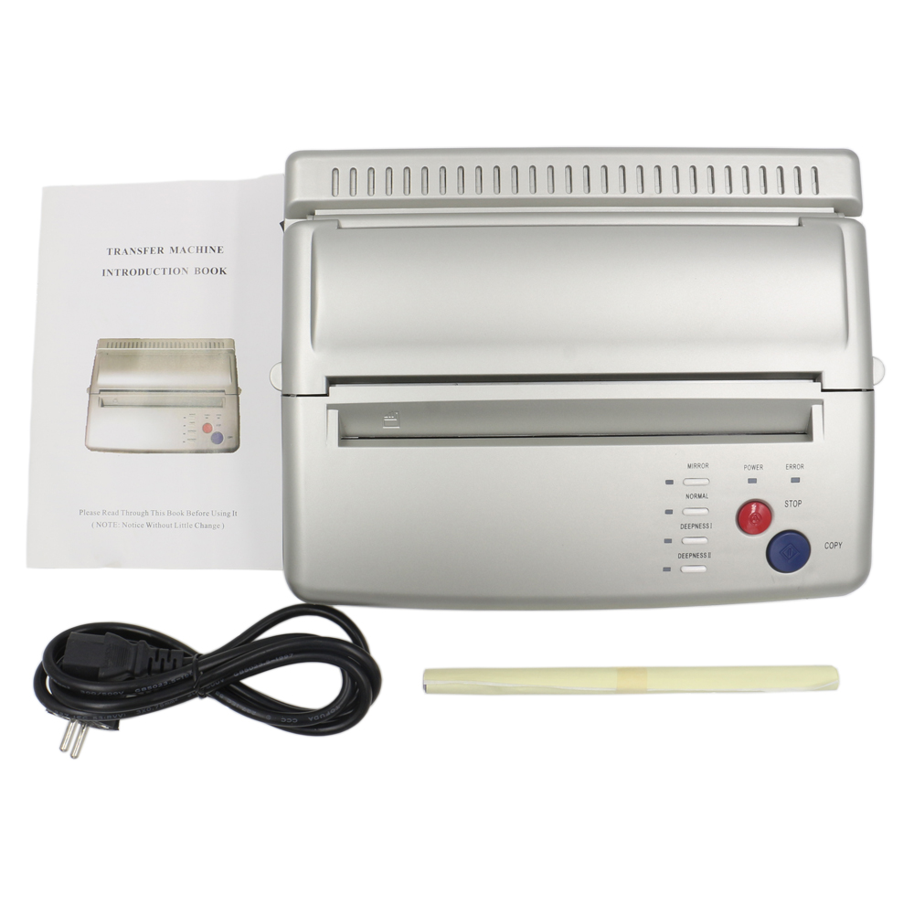 купить Newest Silver Thermal Tattoo Copier and Transfer Stencil Machine Pro Tattoo Transfer Machine For Tattoo Transfer Paper Copy