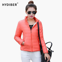 2015 NEW Brand Women's Jacket To Keep Warm In Winter Padded Silk, Ladies Fashion Casual Slim Padded Winter Jacket 9 Colors