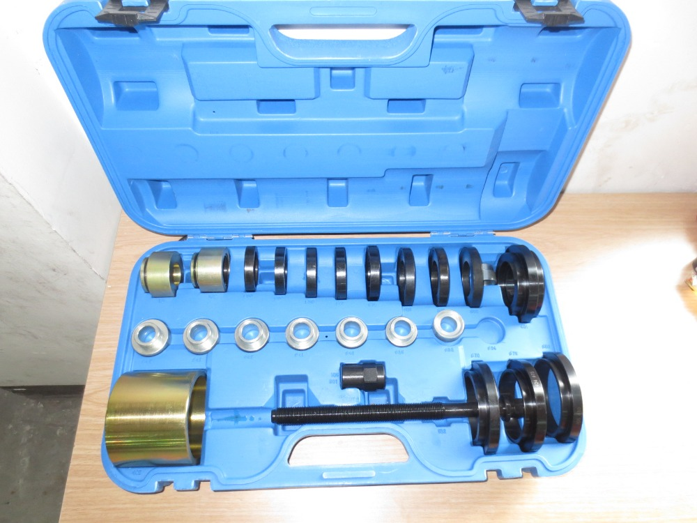 25pc Front Wheel Bearing Installation Set 60 85mm Spindle Drifts Remover Tool WT04B1022