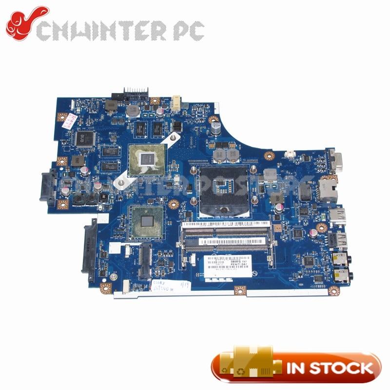 NOKOTION MBRB902001 PEW71 LA 5894P For Acer aspire 5742 5742G Laptop Motherboard HM55 DDR3 GT540M 1GB Free CPU