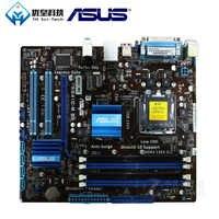 Asus P5G41C-M LX Intel G41 Original Verwendet Desktop Motherboard Sockel LGA 775 Q8200 Q8300 DDR2/3 8G u ATX