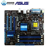 Asus P5G41C-M LX Intel G41 Original utilisé bureau carte mère Socket LGA 775 Q8200 Q8300 DDR2/3 8G u ATX
