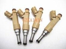 SET 4 100% originaL Fuel Injectors nozzle 23250-37010 2320937010 23209-39145 23250-39145 23209-39146 FOR Toyota Corolla 2009 .