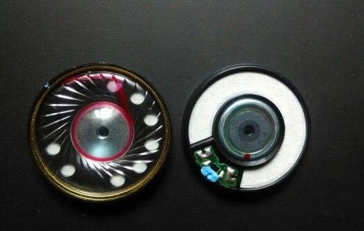 50mm Unidad de altavoz HIFI conductor grueso elástico bajo, voz análisis también es muy bueno 40 ohmios 1 par = 2 piezas
