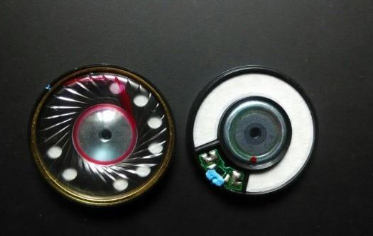 50mm lautsprecher einheit HIFI fahrer Dicke elastische bass, gesang parsen ist auch sehr gute 40 ohm 1 paar = 2 stücke