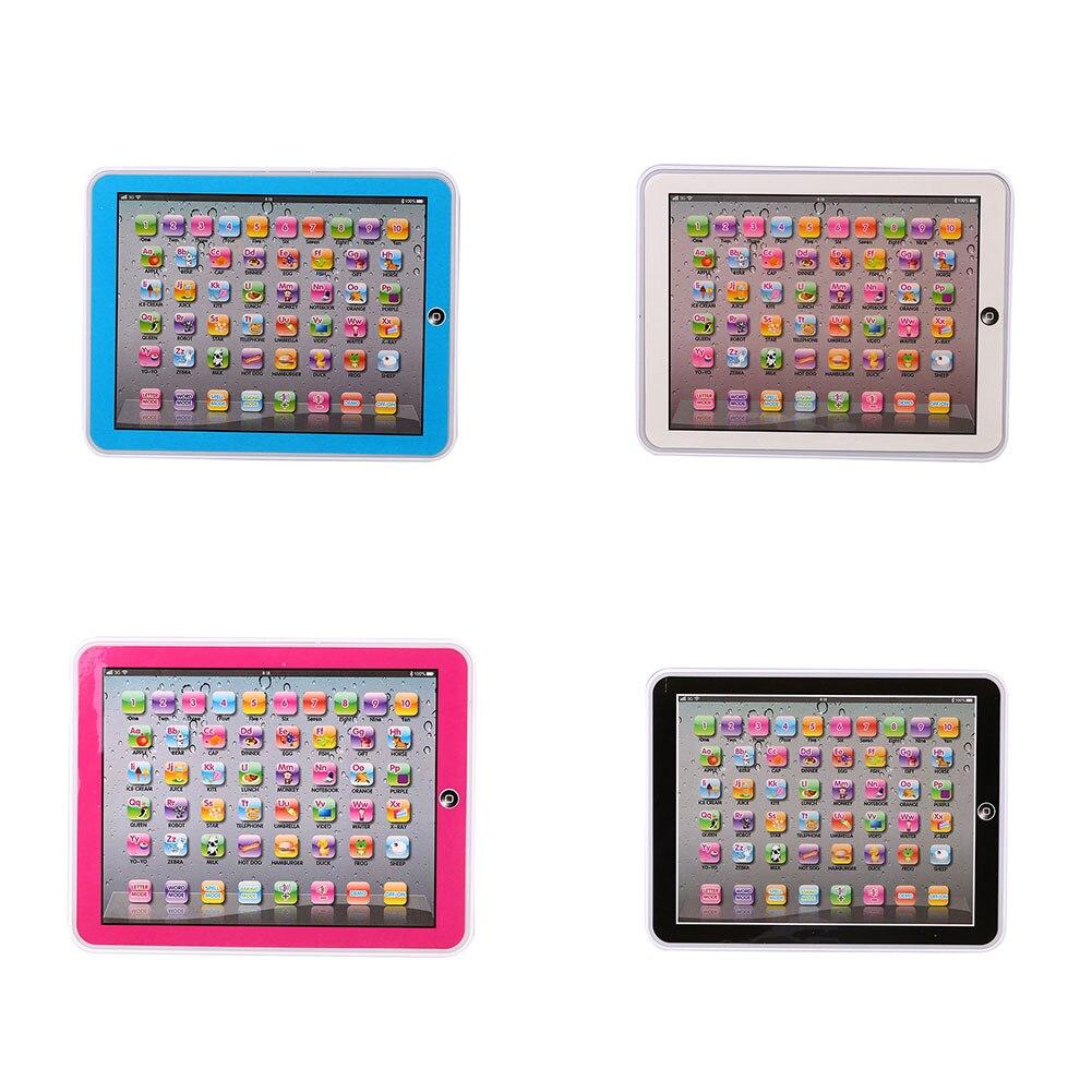 Дети звук Обучающая машина Touch Планшеты Английский Компьютер развития игрушка