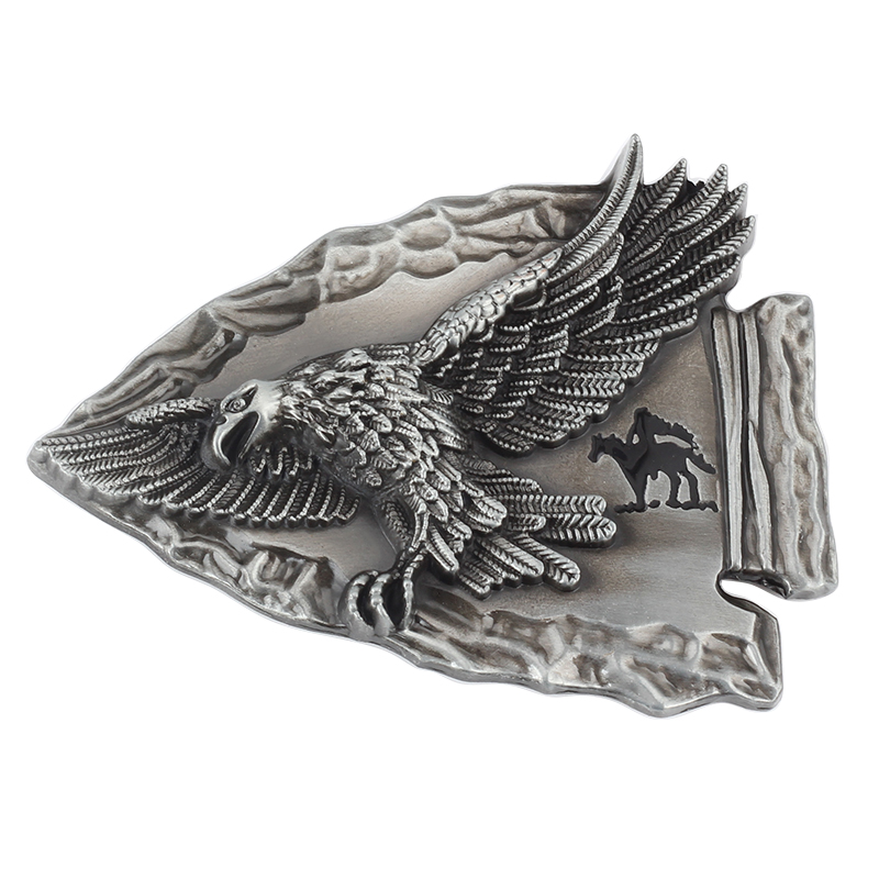 The Eagle With Wings Western Belt Buckle Decorative Belt Accessories Men Belt Buckle