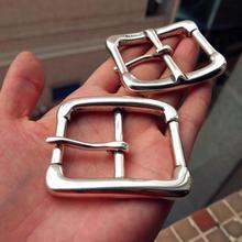 c0f41be25deb23 Diy johnleather craft hardware in ottone massiccio fibbia della cintura  center bar fibbia con finitura argento antico  901407-b4.