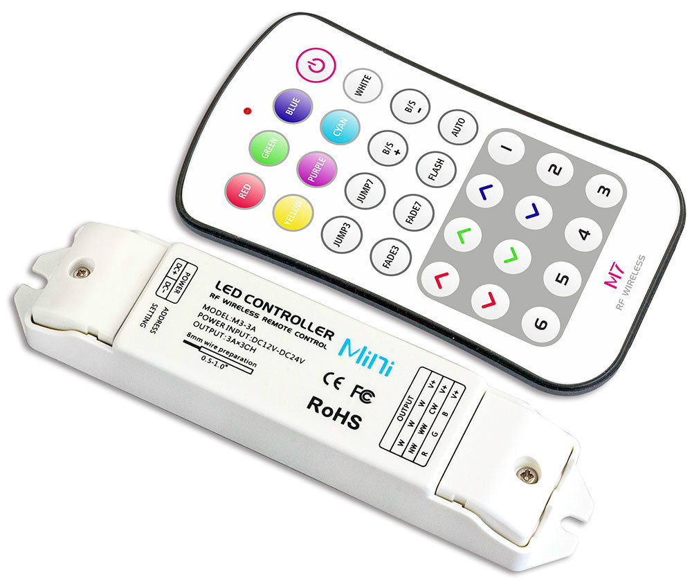 Calvas DC 12V 24V 36V 48V 10A 12CH Two-Way RF Remote Control Switch Wireless Remote Control switch 100-1000m Sucker antenna