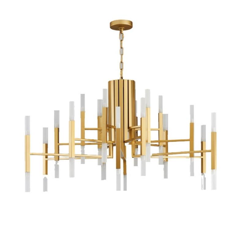 Wongshi Moderno Ouro Branco Preto Acrílico Luz Pingente de Ferro Nórdico Sala Cozinha Designer de Lâmpadas Penduradas