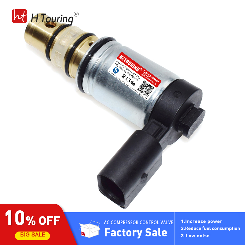 PXE16 PXE14 Sanden compressor control valve Solenoid for Volkswagen Jettas Passat CC Beetle GTIs Golf Tiguan For AUDI A3 in Air conditioning Installation from Automobiles Motorcycles