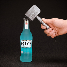 Beer Bottle Openers Multifunction Hammer Of Thor Shaped Opener With Long Handle Bottler