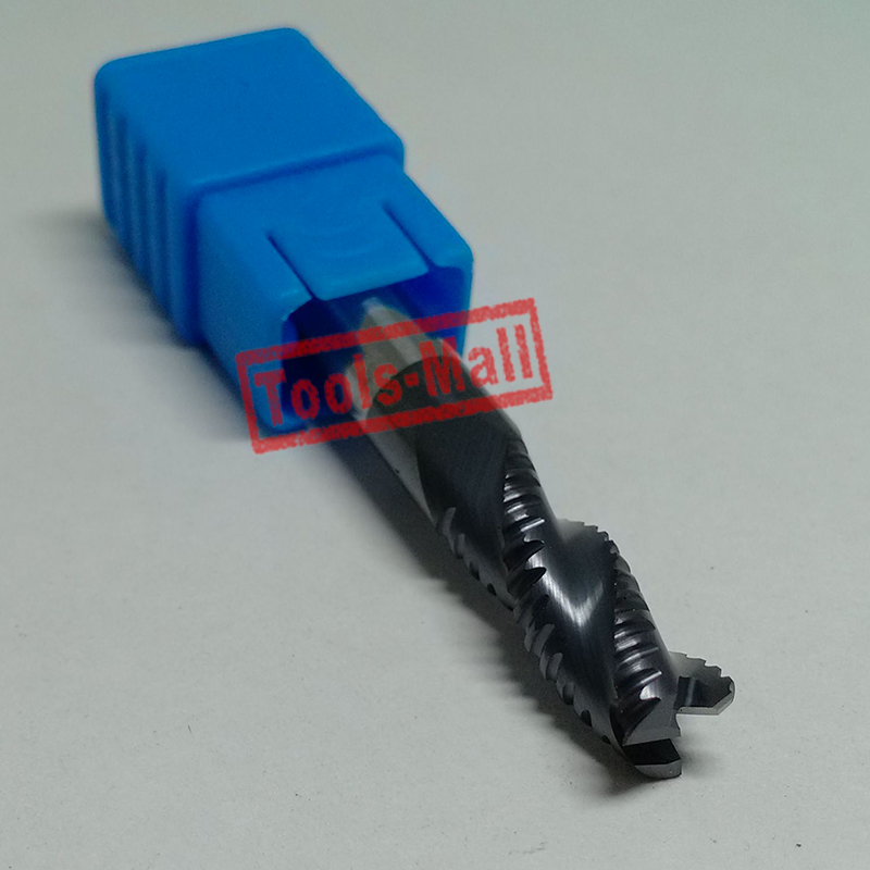 1 шт. 12 мм hrc55 D12* 30* D12* 75 3 флейты Черновая фреза спиральное долото фрезерных станков с ЧПУ из карбида фрезы Фрезы для контурной обработки
