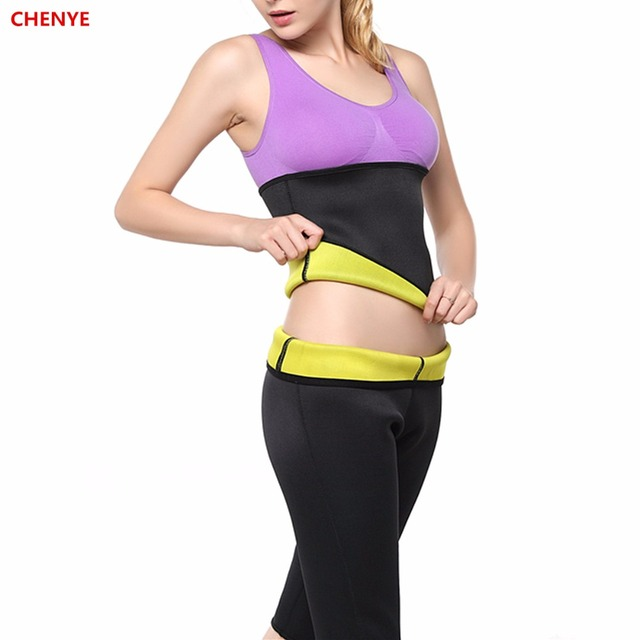 d4874c029d Women s Plus Size Waist Trainer Belt Hot Body Shapers Pants Neoprene  Slimming Belt Shaper Hot Waist Trimmer Corset Slimmer Pants