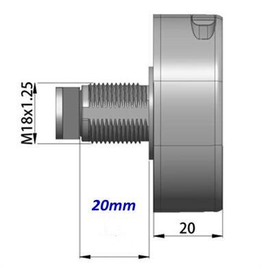 Lock body 20mm