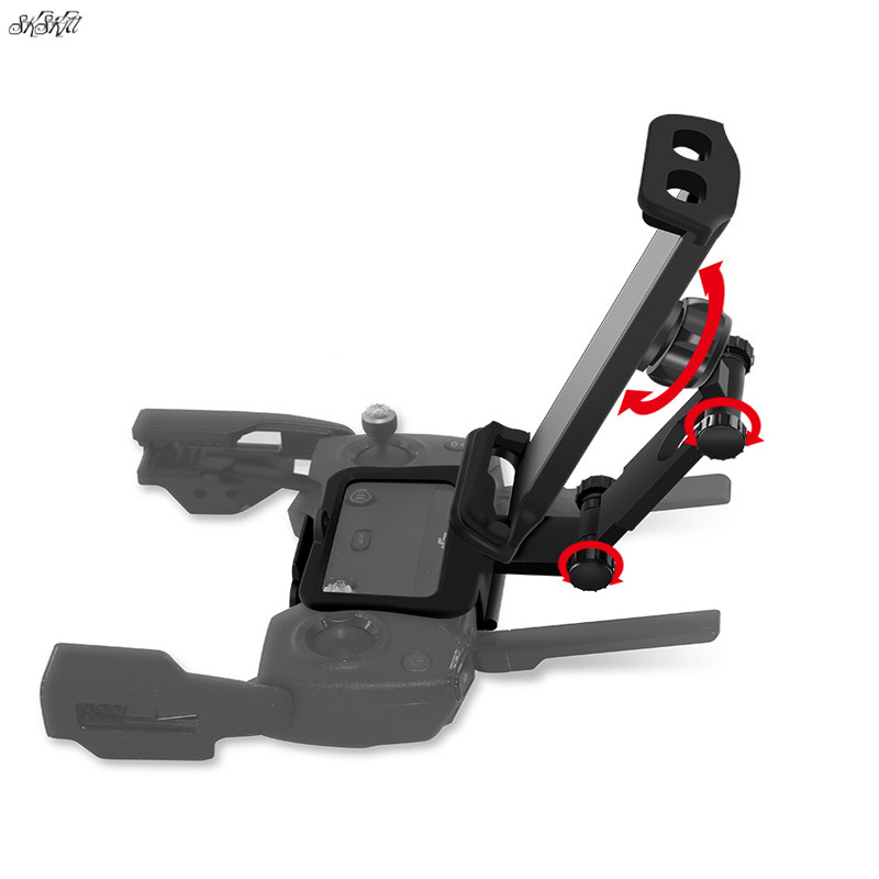 Remote Controller bracket Fixed Clip + Shoulder Neck Strap Lanyard phone tablet holder mount For DJI Mavic pro Air SPARK Drone for dji mavic pro remote controller metal base tablet mobile phone flat bracket holder for dji mavic air for dji spark