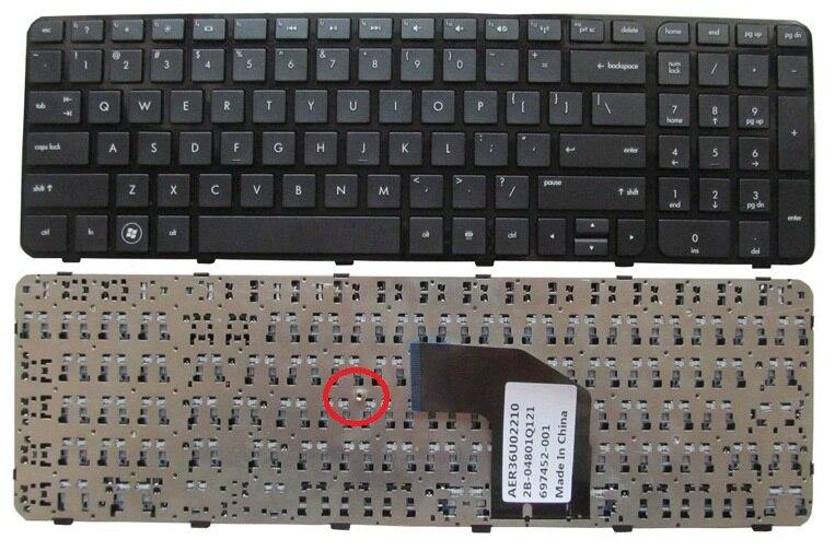 SSEA New US Keyboard For HP Pavilion G6 G6-2000 G6-2100 G6Z-2000 G6-2163sr Laptop black Keyboard