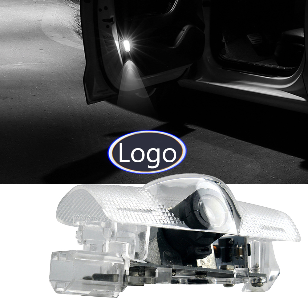 2 20 pcs Logo Car Door Badge Shadow Courtesy Light For Corolla Prius Tundra Alphard Sienna