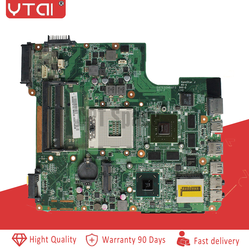 DATE5DMB8F0 L700 motherboard For Toshiba L700 L745 Laptop motherboard GT525M A000074700 DDR3 mainboard 100 tested intact