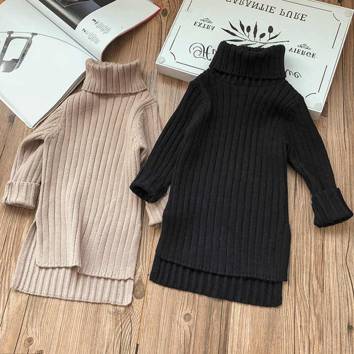 2019 New Winter Item Girl Long Top Two Colors