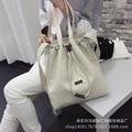 2016 new spring women  tide Crossbody  Shoulder canvas bag  shopping bag