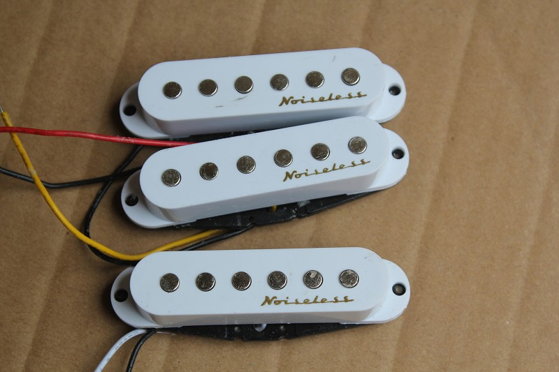 high quality sss Single Coil Pickup electric Guitar Replacement Accessory guitar noiseless pickups