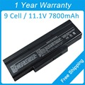 New 7800mah laptop battery SQU-601 for MSI MS1637 GT735 GX640 GX633 VR630 EX720 GE600 EX460X EX600X CX420MX 916C5220F 1034T-003