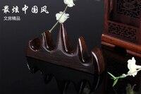 Китайской каллиграфии Подставки для ручек высокое качество древесины Mountain формы держатели Бизнес подарки Китайский стиль декора acs010