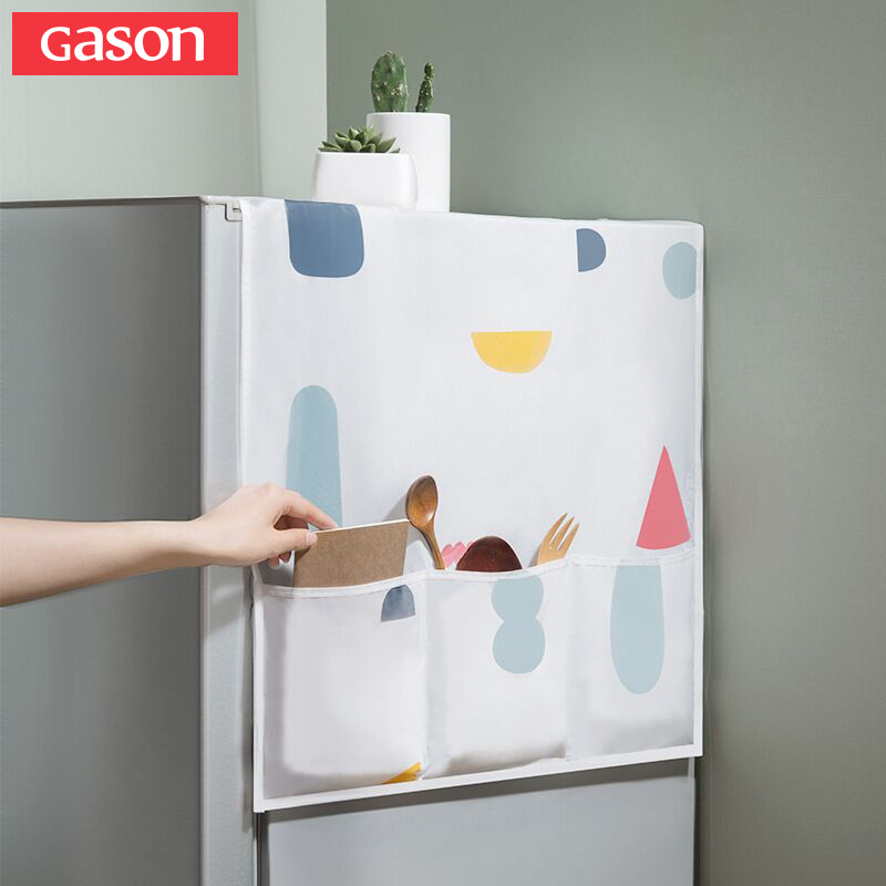 GASON Colorful Floral Waterproof Refrigerator Microwave Oven With Storage Bag Home Appliance Cleaning Accessories Dust Cover