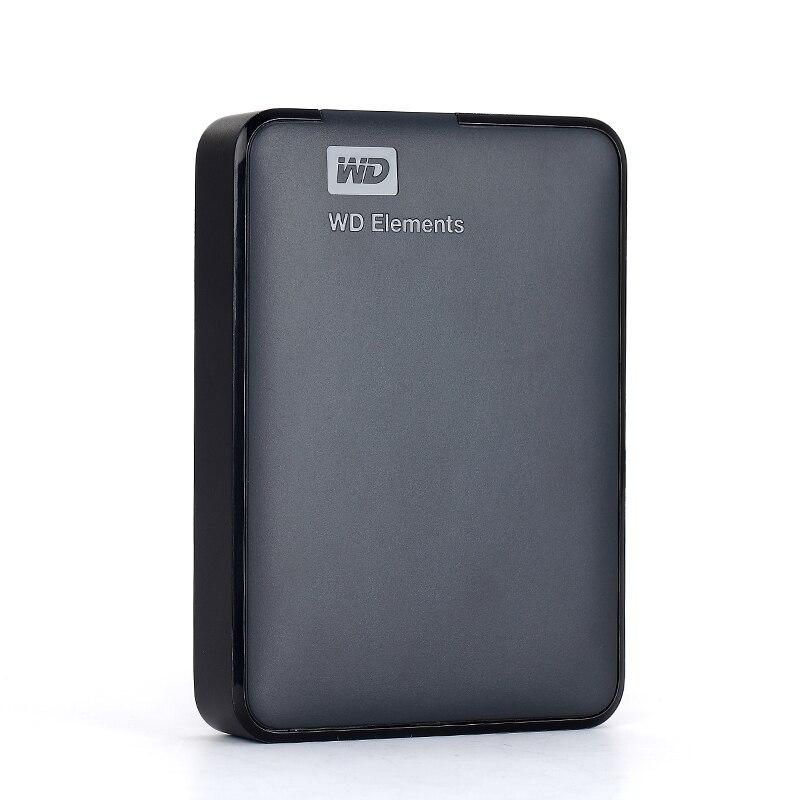"WD External Hard Drive Hard Disk HDD 2.5"" Portable Disco Duro HD Externo 500GB 1TB 2TB 3TB 4TB 1TB HD USB3.0 External Hard Drive-in External Hard Drives from Computer & Office    2"