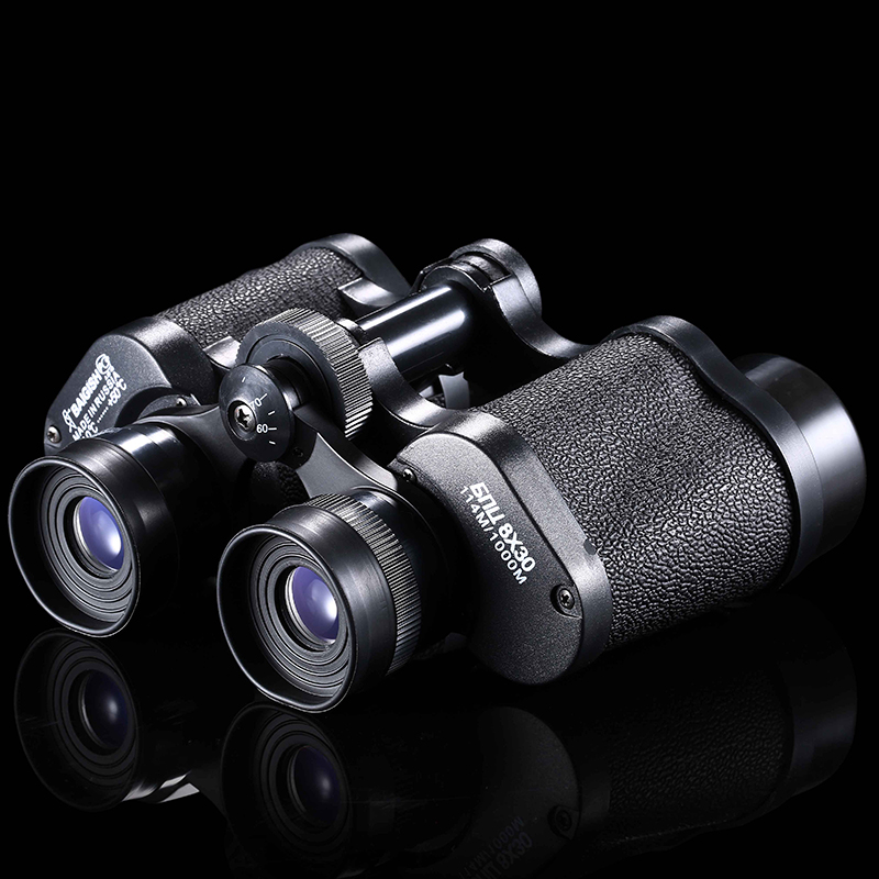 2016 High Quality Low Price Hunting Binocular Camping Outdoor Sports Hunting Mountaineering Hiking Binocular 8X30 Telescope