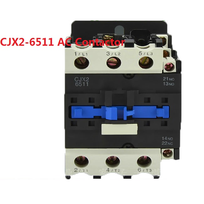 CJX2-6511 65A 3P NO NC AC contactor CJX2-65 LC1-D65 series 220V 380V 110V 48V 36V 24V цена 2017