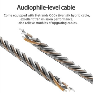 Image 4 - سماعة أذن BGVP DM7 6BA متوازنة داخل الأذن معدنية عالية الدقة مع كابل MMCX قابل للفصل وثلاثة فوهات DMG DM6