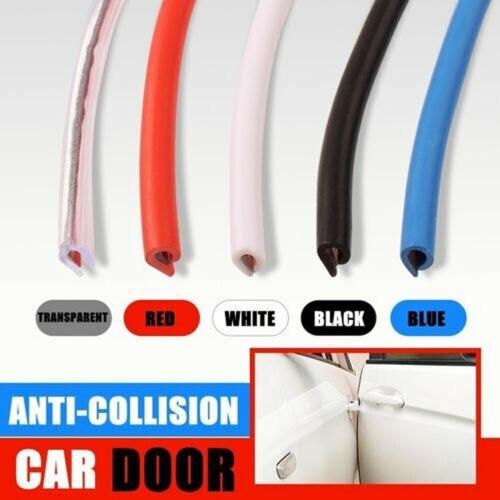 5m Car Anti Collision Side Door Edge Rubber Bumper Protect Sticker Strip