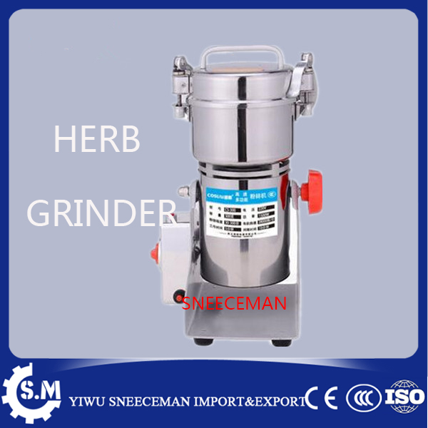 300g stainless steel whole copper motor swing type chinese herb medicine crushing machine household electronic herb grinder300g stainless steel whole copper motor swing type chinese herb medicine crushing machine household electronic herb grinder