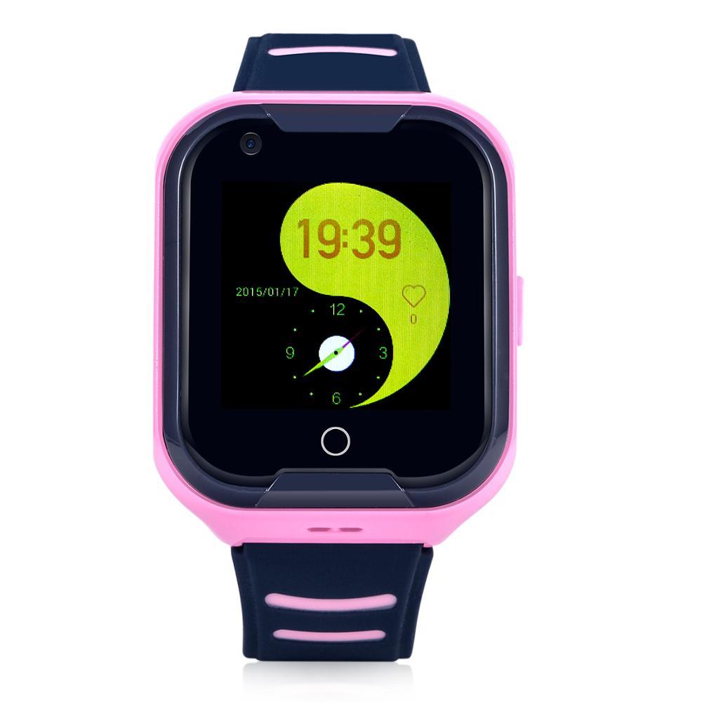 Wonlex KT11 date 4G montre intelligente pas cher résistance à l'eau IP67 montre de téléphone intelligent avec dispositif GPD pour enfants et adultes (Version EU) - 3