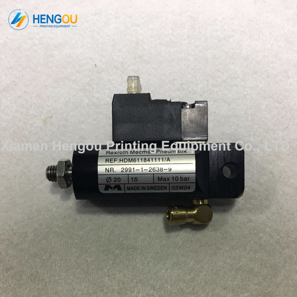 1 Piece 61.184.1111 Printing parts SM102 SM74 Automatic wash ink cylinder SM102 CD102 cleaning ink roller cylinder 61.184.1111 heidelberg sm102 cd102 cleaning ink roller cylinder 61 184 1111