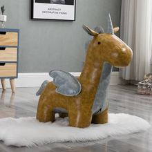 FREE SHIPPING U-BEST Cute Low Stool Footrest Stool  Horse Ottoman,modern antique European style animal shoes stool m style пуф ottoman square
