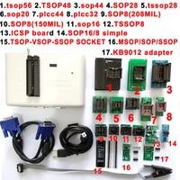 RT809H EMMC Nand FLASH Programmer +18 SOP8 flash Adapter TSOP56 TSOP48 SOP28 SOP8 scoket EMMC NAND NOR better than RT809F
