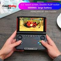 X18 Andriod Handheld Game Console 5.5 INCH 1280*720 Screen MTK8163 quad core 2G RAM 16G ROM Video Handheld Game Player