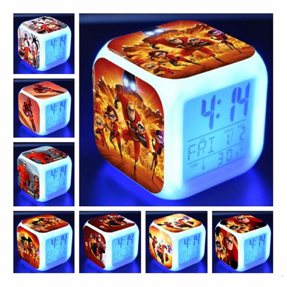 Back To Search Resultstoys & Hobbies Independent Doctor Strange Figures Led Alarm Clock Colorful Flash Night Light Movie Figurine Desk Watch Toys For Children