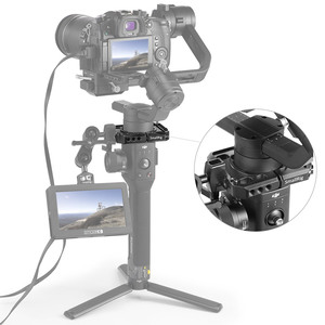Image 4 - DJI Ronin S Gimbal Stabilizer 용 SmallRig Rod Clamp 1/4 및 3/8 나사 구멍이있는 퀵 릴리스로드 클램프 키트 2221