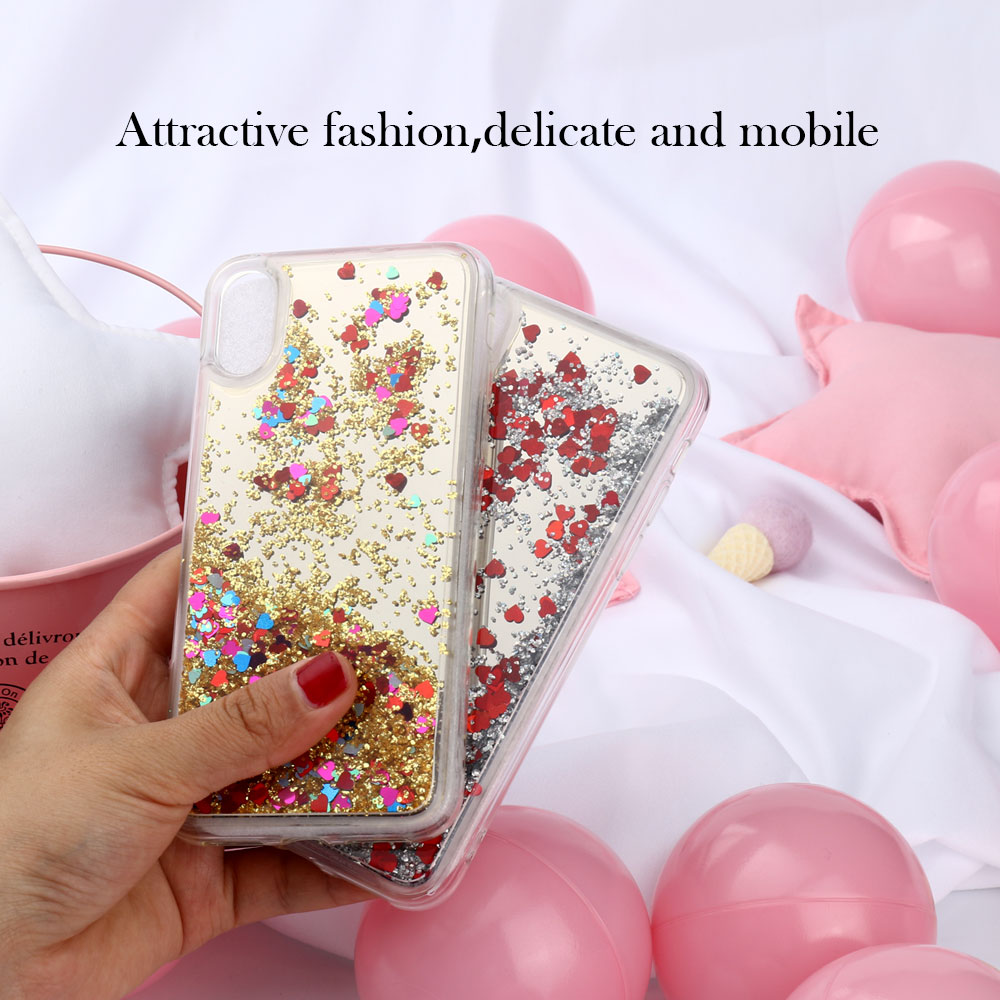 Uppbo Glitter Cases For ZTE Blade A510 Case A6 L5 V6 A610 520 LG Q6 G6 Plus Alcatel U5 A5 LED 3C Pixi4 5010D Coque Mirror Covers in Fitted Cases from Cellphones Telecommunications
