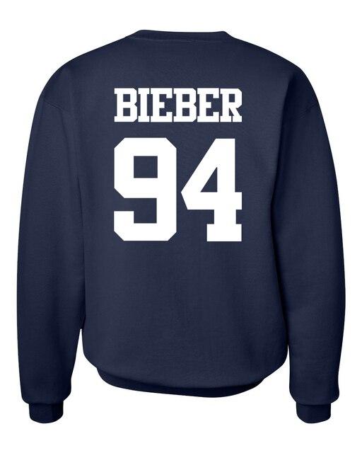 2017 nova queda de moda inverno do velo hoodies homens camisolas de marca justin bieber 94 mesmo parágrafo clothing hip hop streetwear