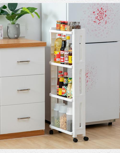 Kitchen Plastic Storage Rack