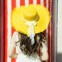2018 New Wide Brim Floppy Fold Sun Hat Summer Hats For Women Out Door Sun Protection Straw Hat Women Beach Hat