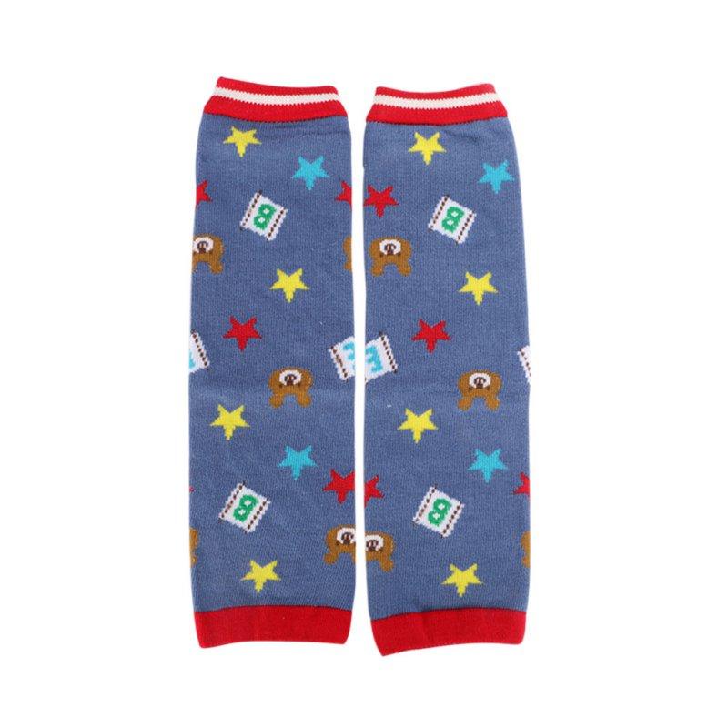 2017 New Baby Leg Warmers Fashion Kids Baby Leg Warmers Kneepads Warm Cotton 1 Pairs Cute Bear