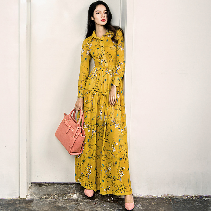 Aliexpress.com : Buy HIGH QUALITY Newest 2017 Designer Maxi Dress ...